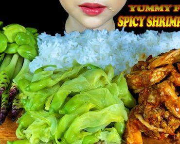 YUMMY FOOD||SPICY SHRIMP PASTE & VEGGIE PLATE