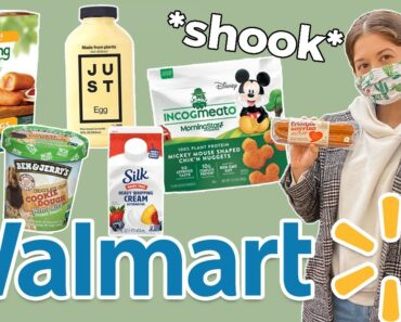 Walmart Vegan Items to Look Out For 😱 *so many options*