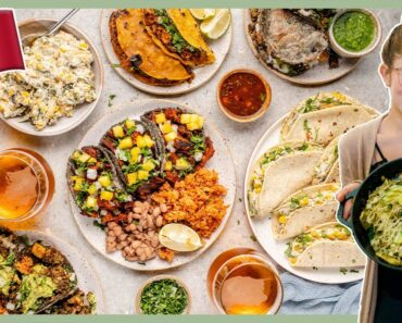 What We Eat In A Day: Vegan Mexican Food 🇲🇽